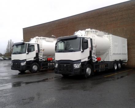camion citerne à farine vrac/sacs -France