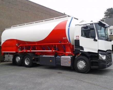 bulk tanker for bakery flour