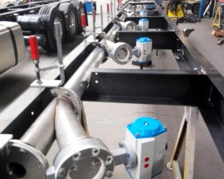 Tankbouw - inox losleiding