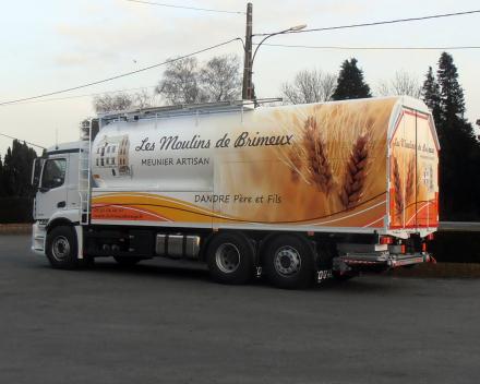 camion citerne à farines vrac/sacs    - France